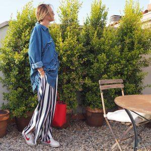 Denim trendy moda blogger pretty instamood ootd todaywearning fashiongram outfitdiariohellip